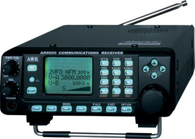 Aor Ar8600 Mark 2 Scanning Receiver Long Communications